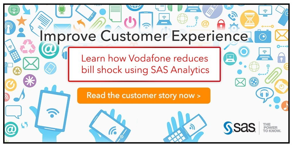 Customer alerts are now personalised with a product offer | SAS