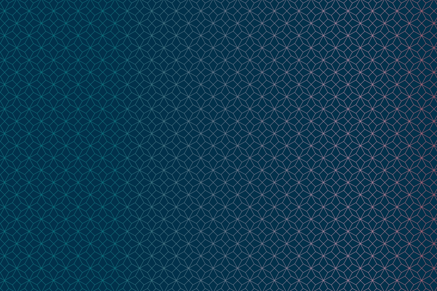 Midnight background with teal and coral gradient origami pattern