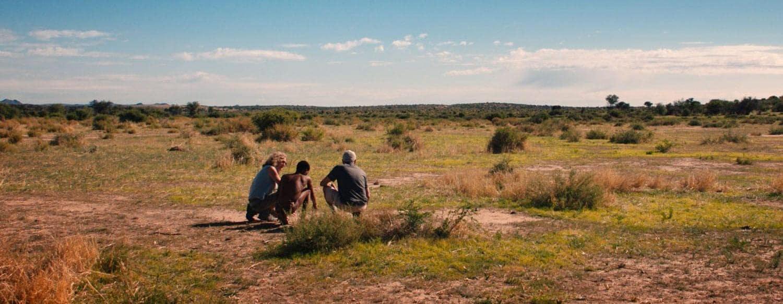 Wildtrack and indigenus trackers track cheetahs