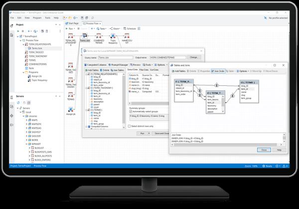 SAS Enterprise Guide - query tool