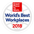 Great Place To Work World's Best Workplaces 2018