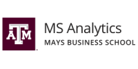 MS Analytics Mays Business School logo