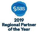 SAS® 2019 Regional Partner of the Year badge
