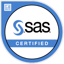 SAS Certified Digital Badge
