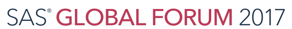 SAS Global Forum 2017 - Users Conference - Logo
