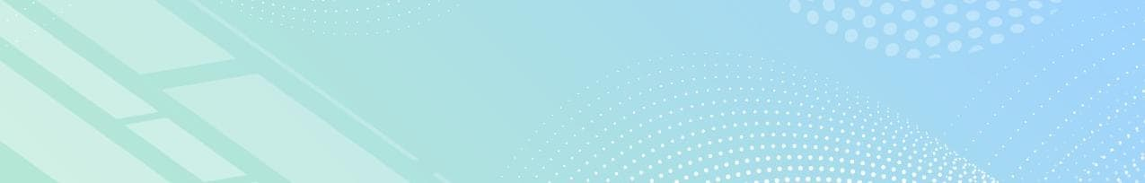 Blue Green Gradient with White Lines and Circles