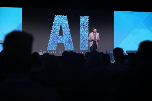 Artificial Intelligence on stage at Analytics Experience