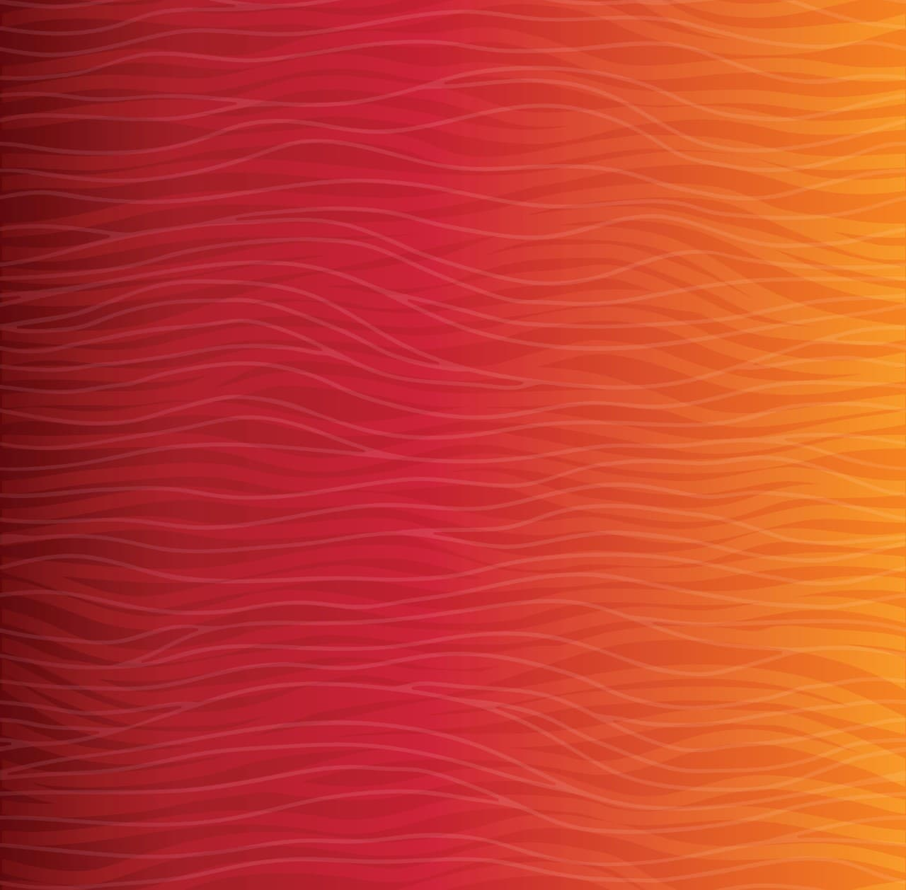 Red Orange abstract art