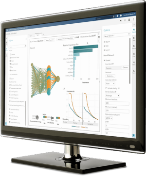 SAS® Visual Data Mining and Machine Learning on screen