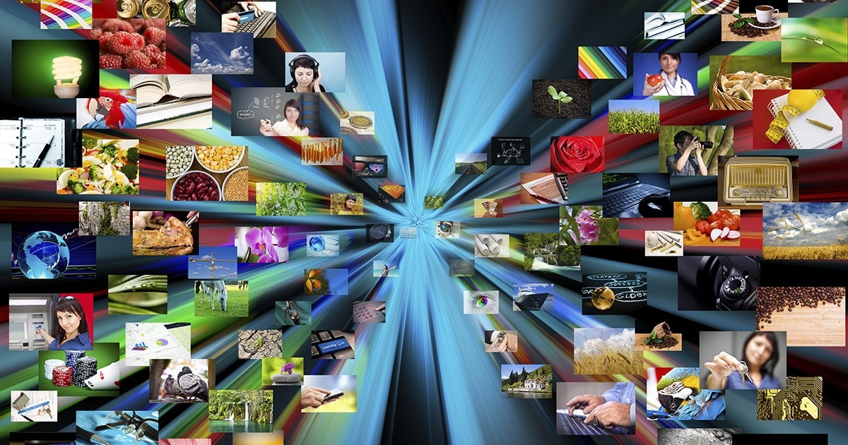 streaming data multimedia background