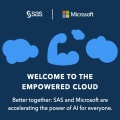 SAS and Microsoft are accelerating the power of AI for everyone