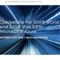 SAS 9 and SAS Viya 3.5 Quickstart for Microsoft Azure