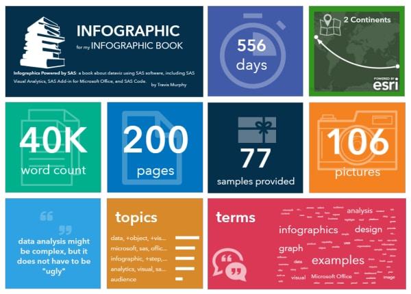 Infographic using SAS Visual Analytics