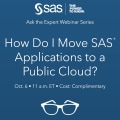 How Do I Move SAS® Applications to a Public Cloud?