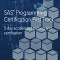 Live web training: SAS Programming Certification Fast Track Series