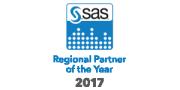 SAS 2017 Regional Partner of the Year badge