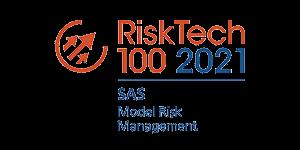 Charties RiskTech 100 2021 Model Risk Management Award - SAS