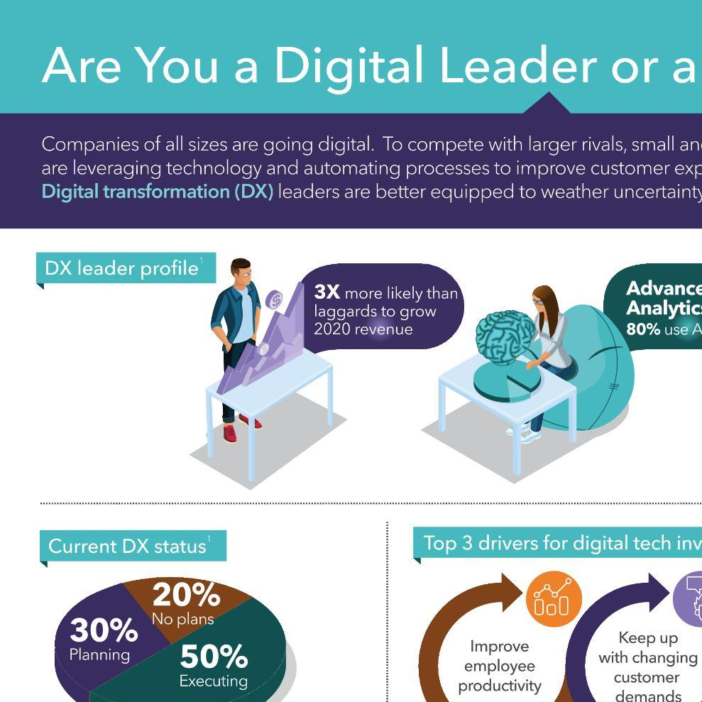 SMB Digital Transformation: Are You a Digital Leader or a Laggard?