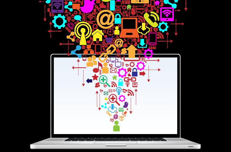 marketing analytics data on computer