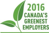 Logo: 2016 Canada's Greenest Employers
