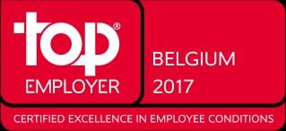 SAS Belgium & Luxembourg a Top Employer for eighth year