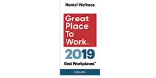 SAS Institute Canada Inc. made it to the 2019 List of Best Workplaces™ for Mental Wellness