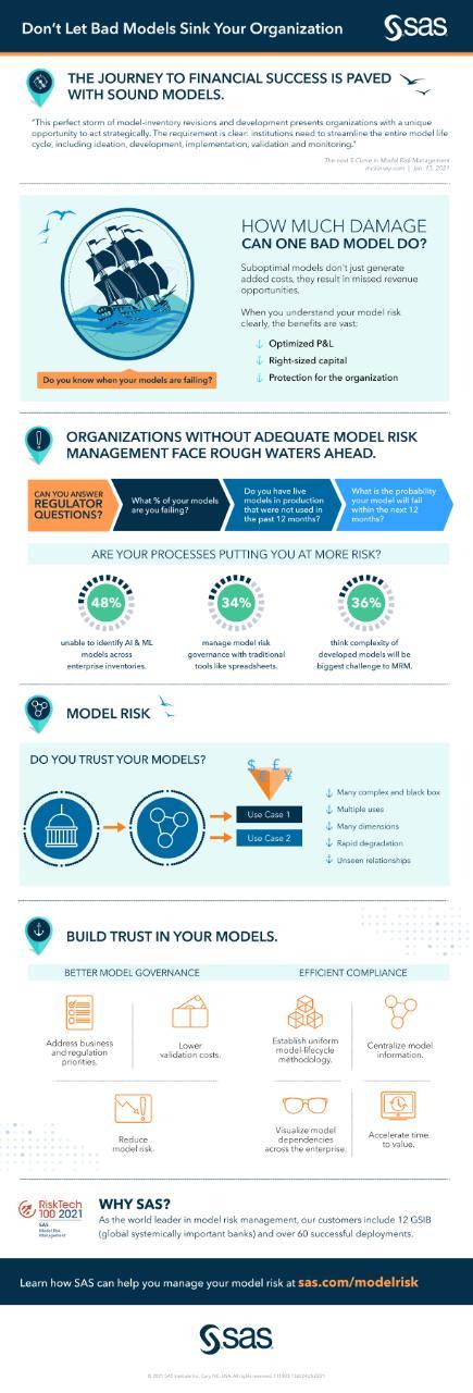 Model Risk management infographic