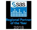 SAS 2018 Regional Partner of the Year badge
