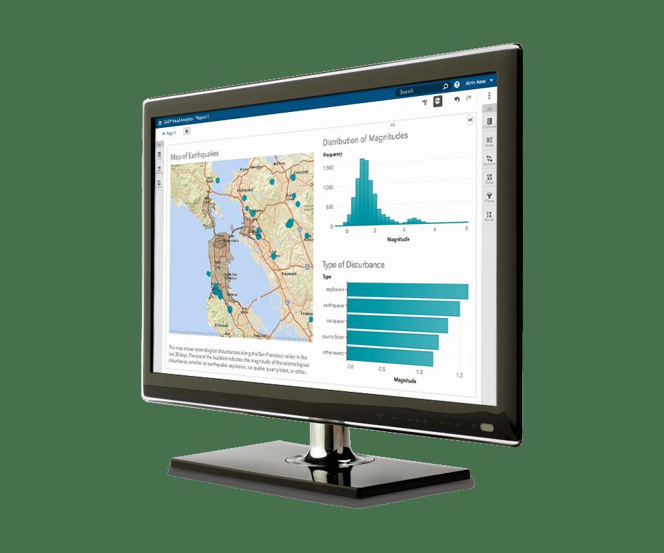 SAS® Visual Analytics - location and exploration
