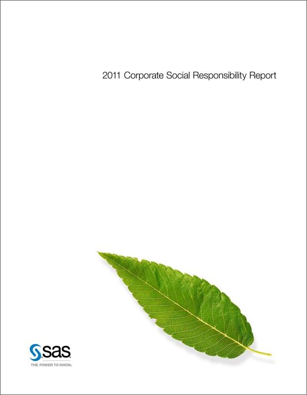CSR Report 2011 Cover