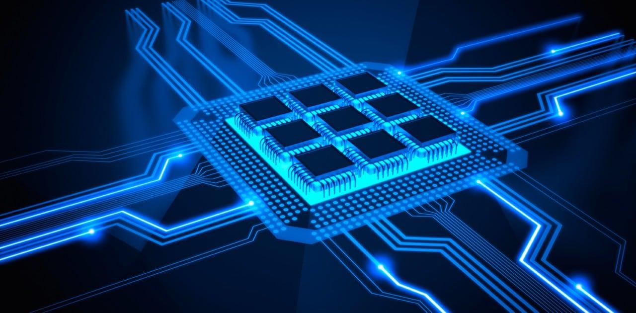 Computer abstract artwork