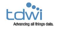 Logotipo de tdwi - Avance de los datos de todas las cosas