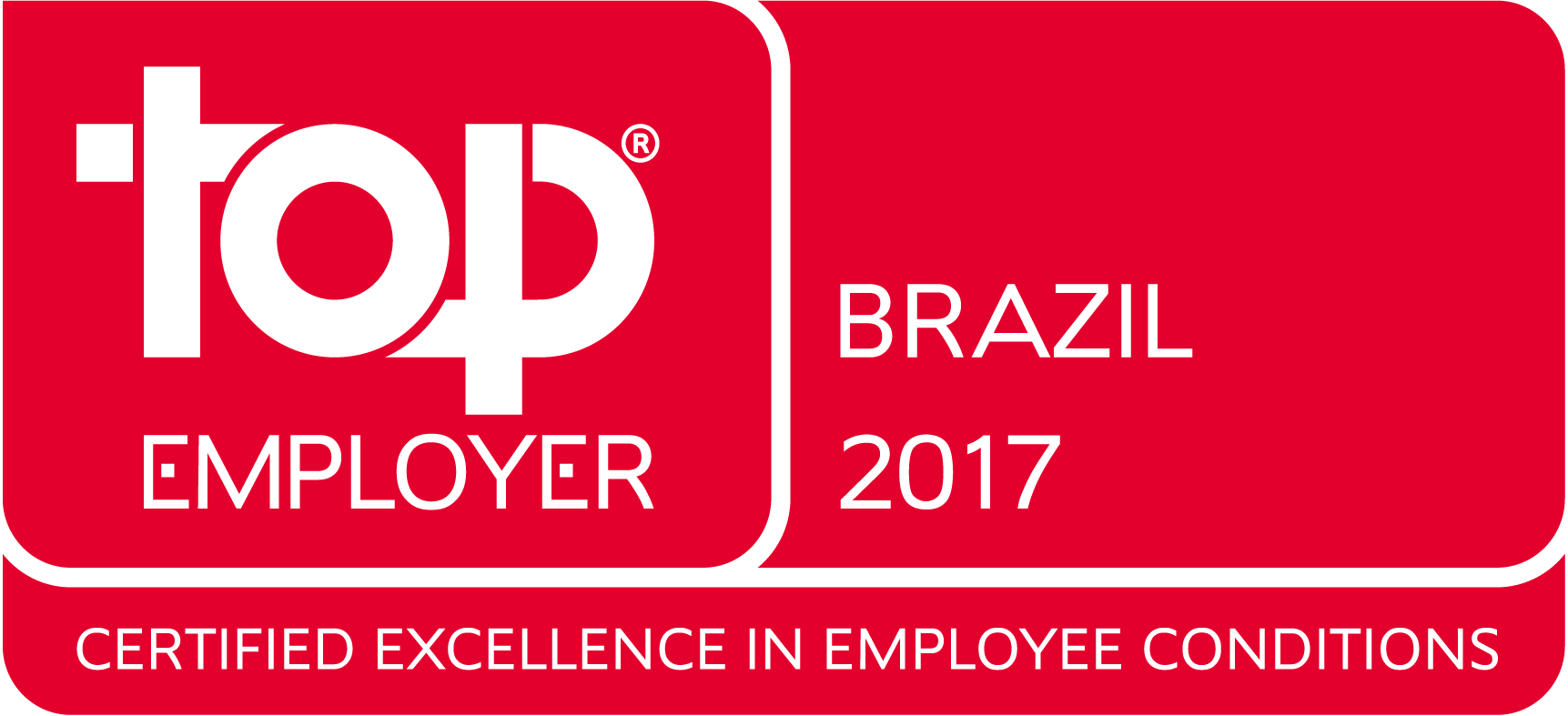 2017 Top Employer Brazil logo