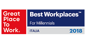 2018 GPTW Italy Best Workplaces for Millennials Award