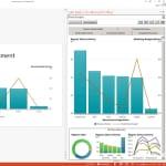 Vista en miniatura de la integración de SAS Office Analytics y Microsoft PowerPoint