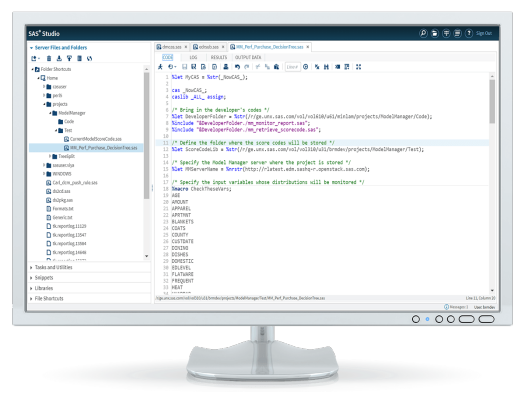 SAS® Model Manager - performance reports code