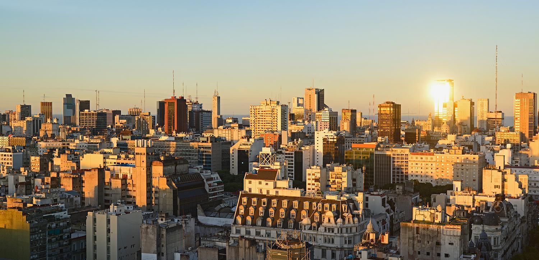 Argentina Buenos Aires skyline