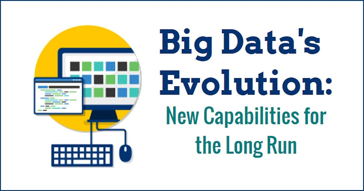 Big Data's Evolution Infographic Header