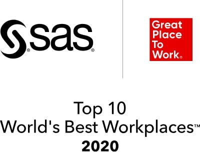 SAS Great Place to Work Top 10 Worlds Best Workplaces