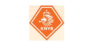 The Koninklijke Nederlandse Voetbal Bond (KNVB) logo
