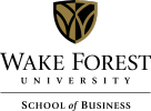 Wake Forest University School of Business Logo