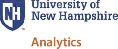 University of New Hampshire - Analytics School Logo