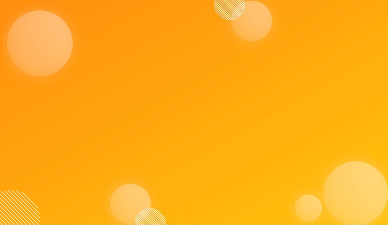Yellow gradient with circles