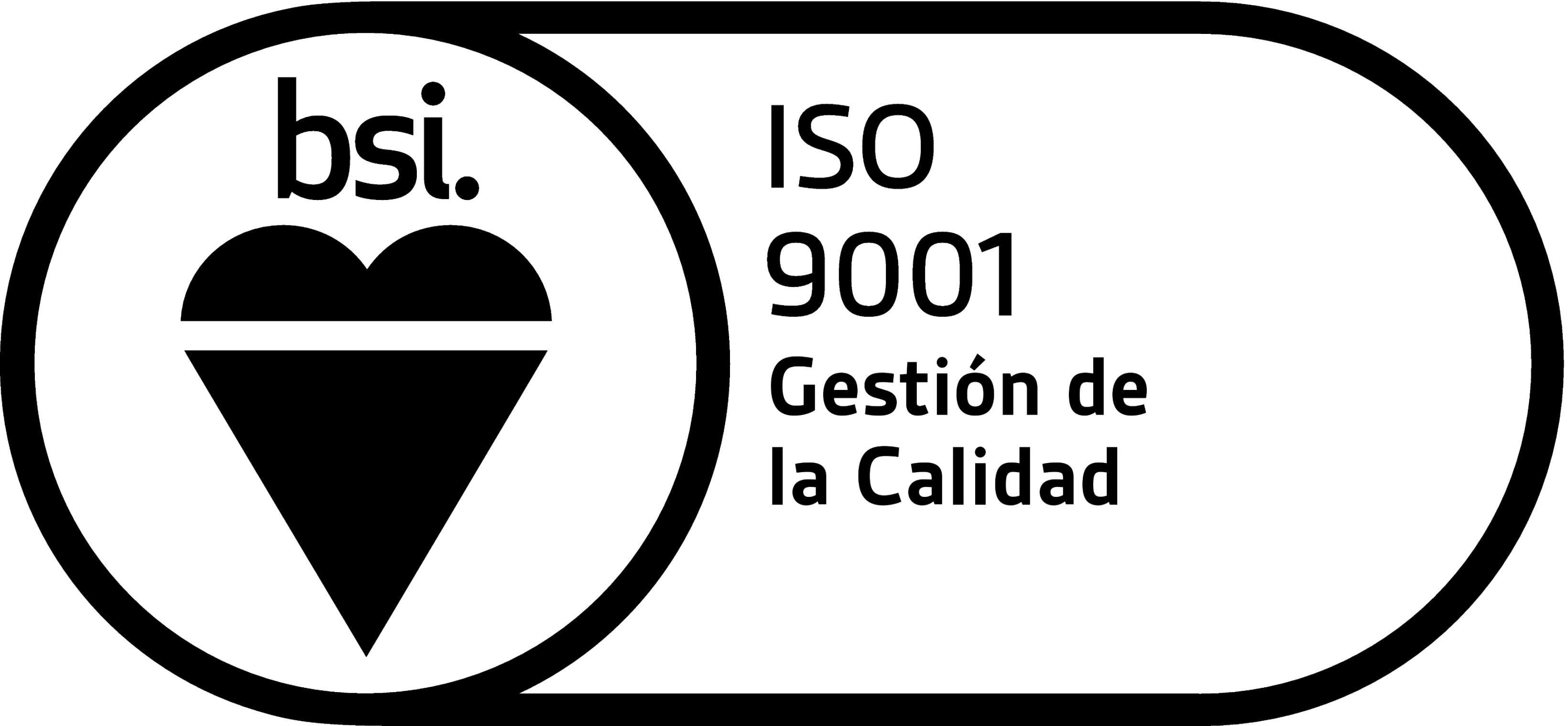 Logo ISO 9001 - Calidad España
