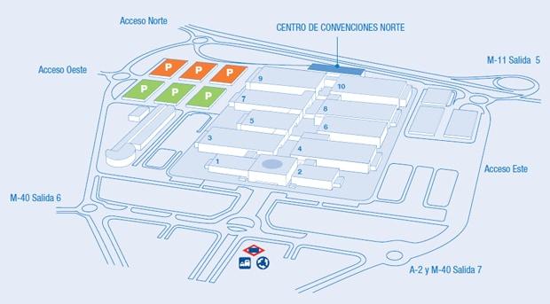 SFE14 - Map image - Madrid IFEMA