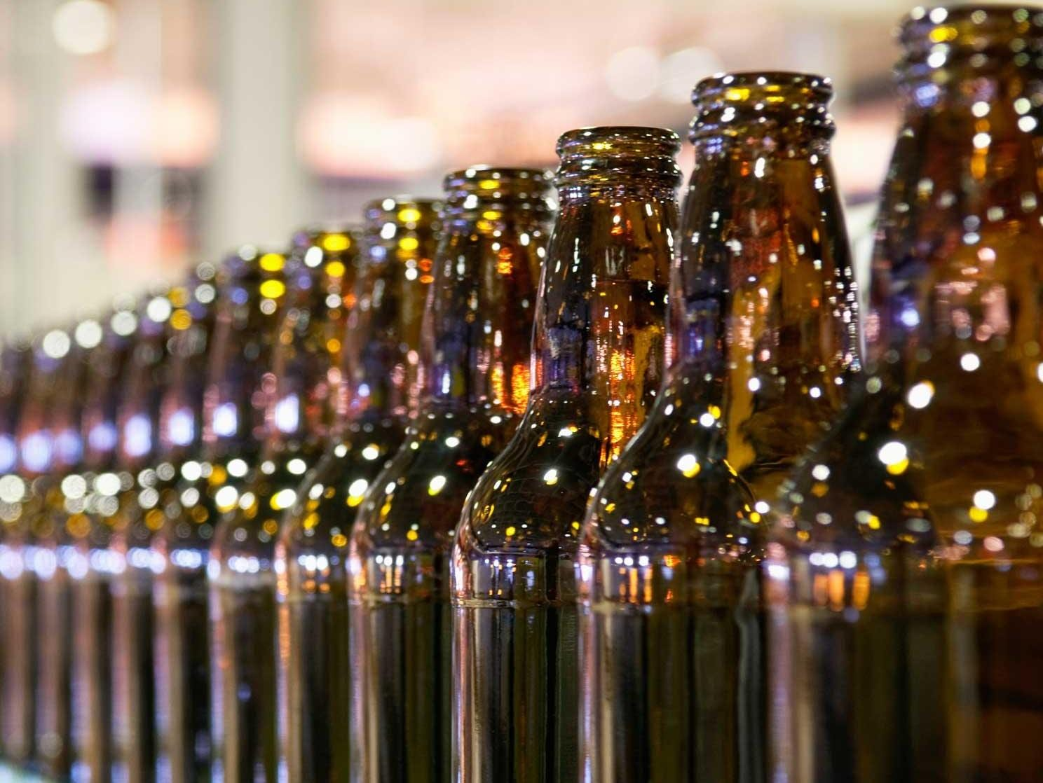 99 bottles of beer in the production line