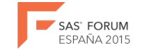 SAS Forum Spain 2015 - logo
