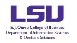 LSU Department of Information and Decision Sciences Logo