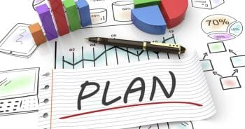 Plan, Graphs and Charts Graphic