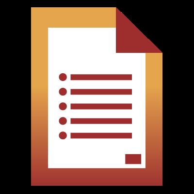 Fact Sheet Icon